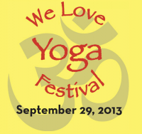 We Love Yoga Festival on 9-29!